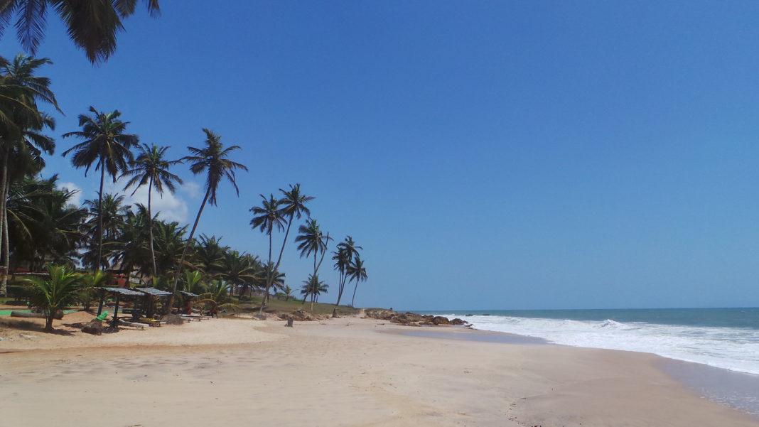 Ghana beach
