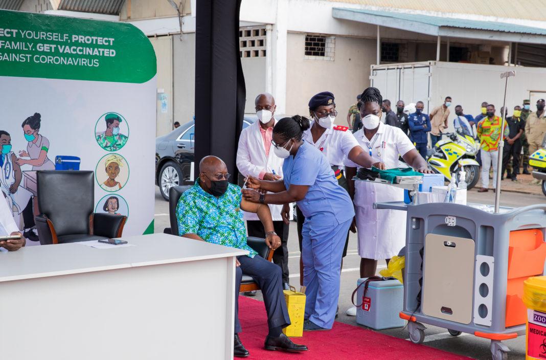 Ghana covid vaccine
