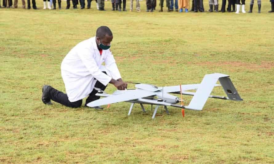 Uganda Medical Drones